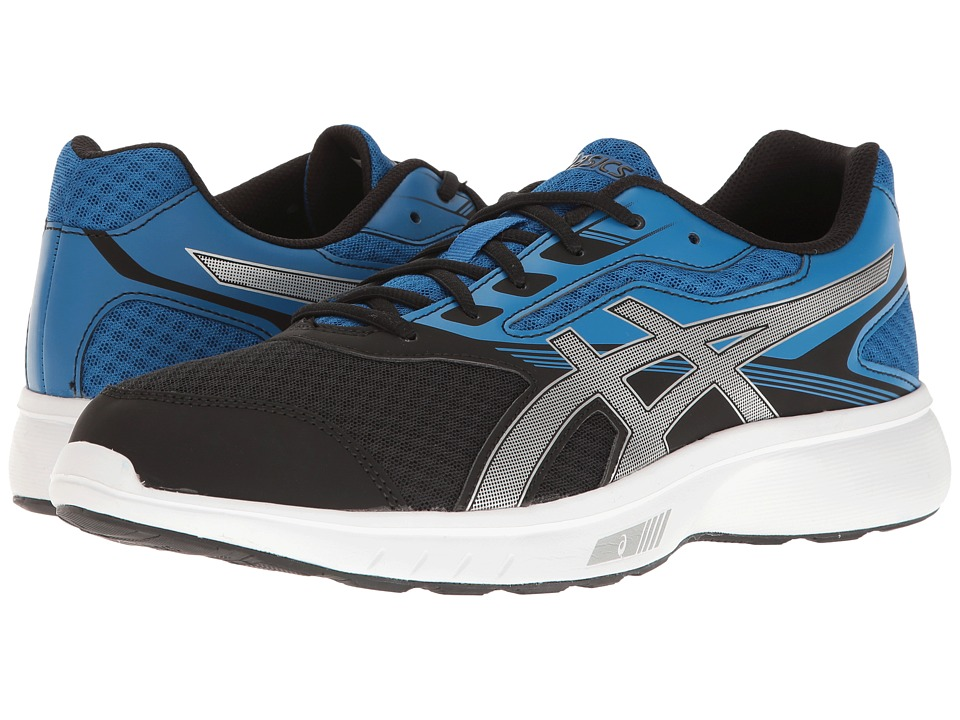 ASICS - Stormer (Imperial/Silver/Black) Men's Shoes