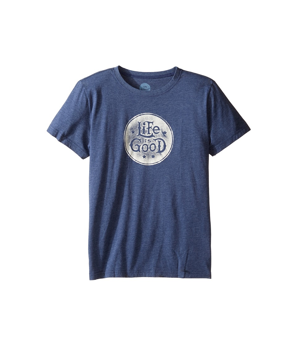 Life is Good Kids - Life is Good(r) Cool Tee (Little Kids/Big Kids) (Darkest Blue) Boy's T Shirt