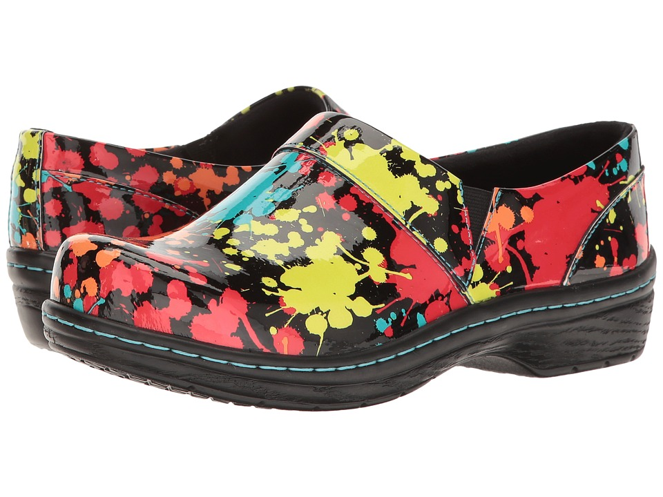 Klogs Footwear Mission (Splatter Patent) Women