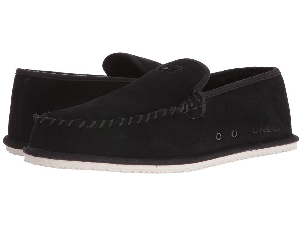 O'Neill - Surf Turkey Suede Low Original (Black) Men's Slippers