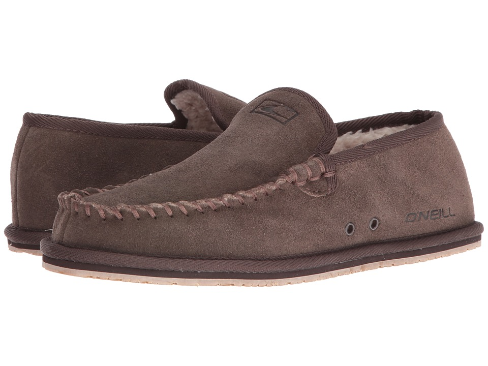 O'Neill - Surf Turkey Suede Low Original (Brown) Men's Slippers