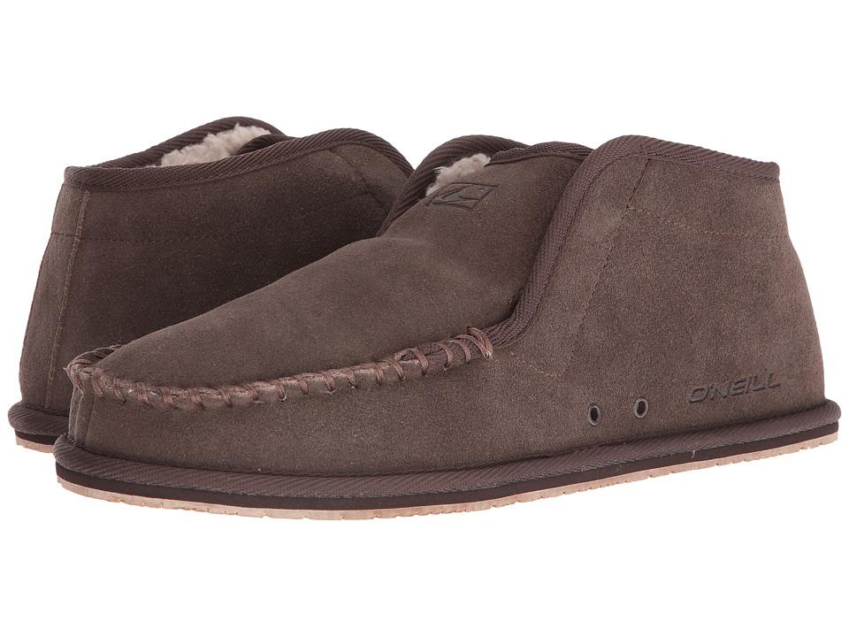 O'Neill - Surf Turkey Suede Original (Brown) Men's Slippers
