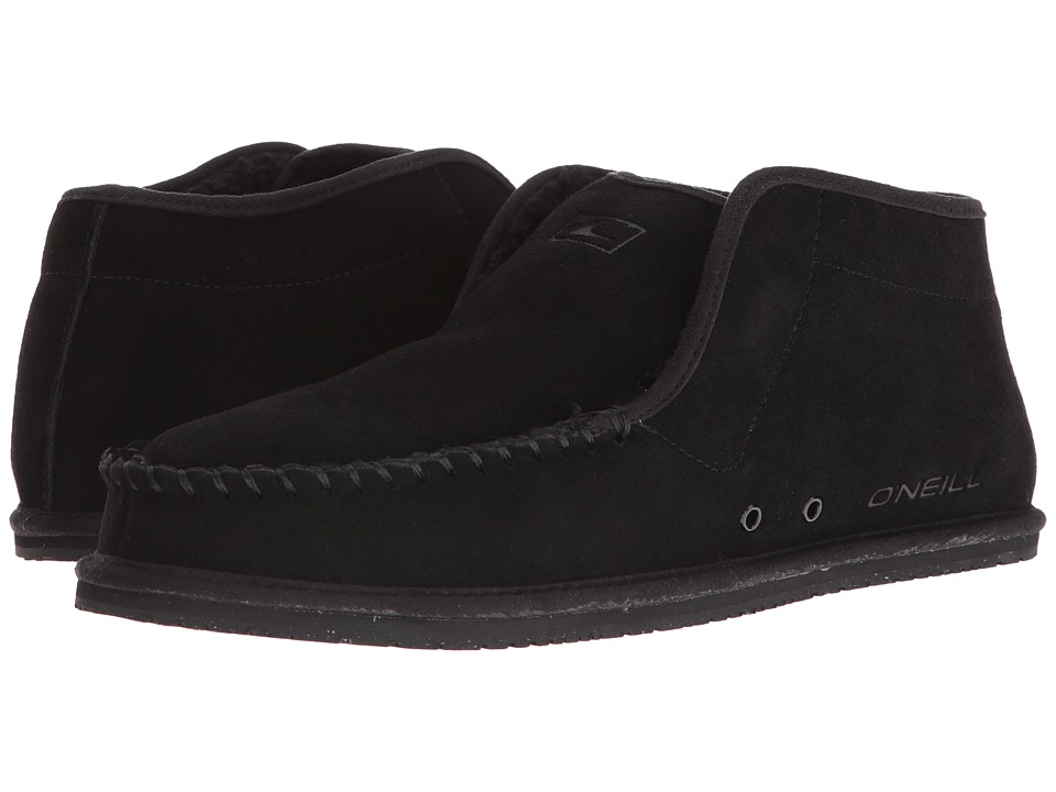 O'Neill - Surf Turkey Suede Original (Black) Men's Slippers