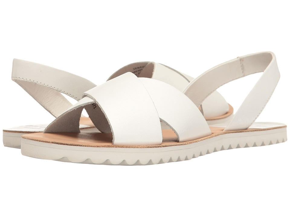 Sebago - Sidney Slingback (White Leather) Women's Shoes