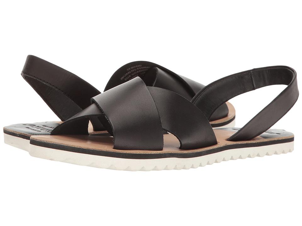 Sebago - Sidney Slingback (Black Leather) Women's Shoes