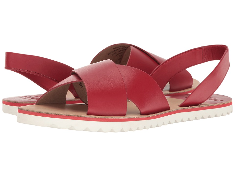 Sebago - Sidney Slingback (Red Leather) Women's Shoes
