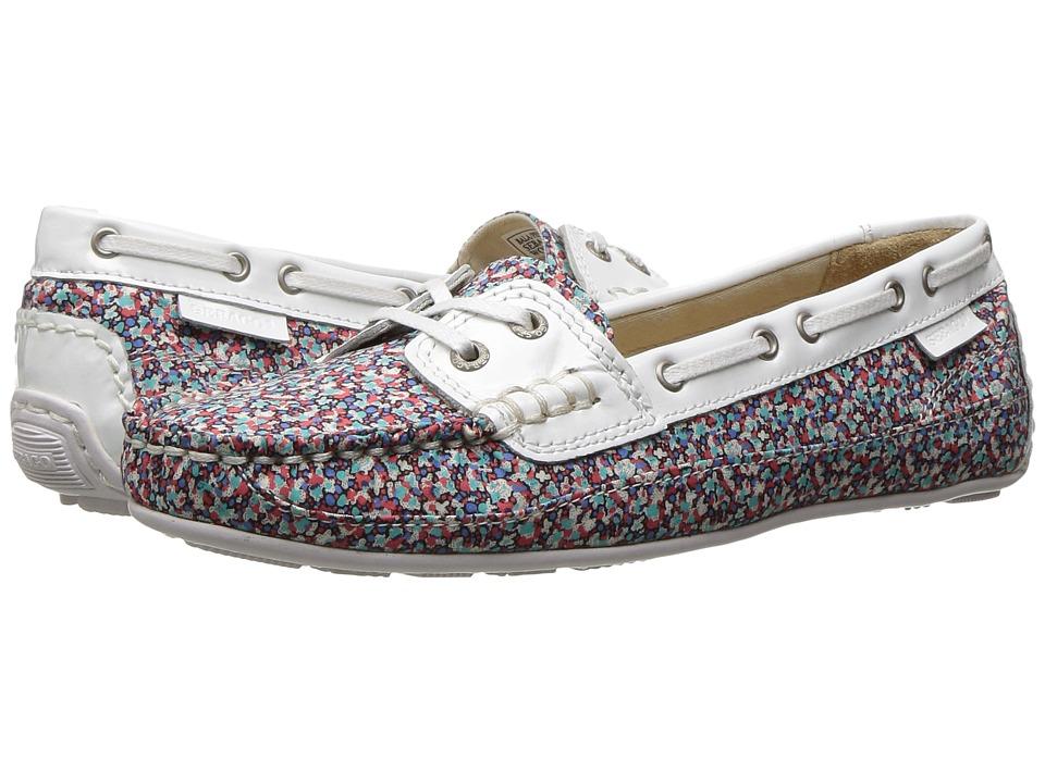 Sebago - Bala Liberty (Pepper Print/White Patent) Women's Shoes
