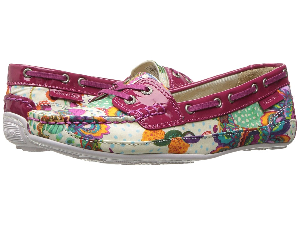 Sebago - Bala Liberty (Grand Bazzar Print/Dark Pink Patent) Women's Shoes