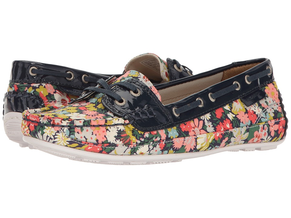 Sebago - Bala Liberty (Thorpe Print/Navy Patent) Women's Shoes