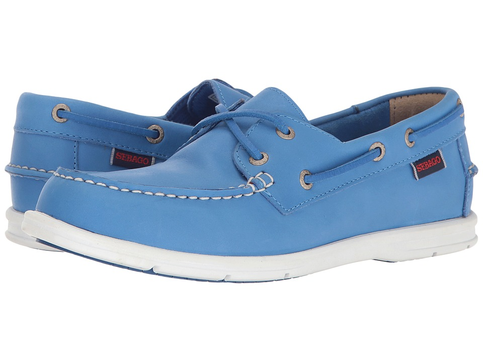 Sebago - Liteside Two Eye (Blue Leather) Women's Shoes