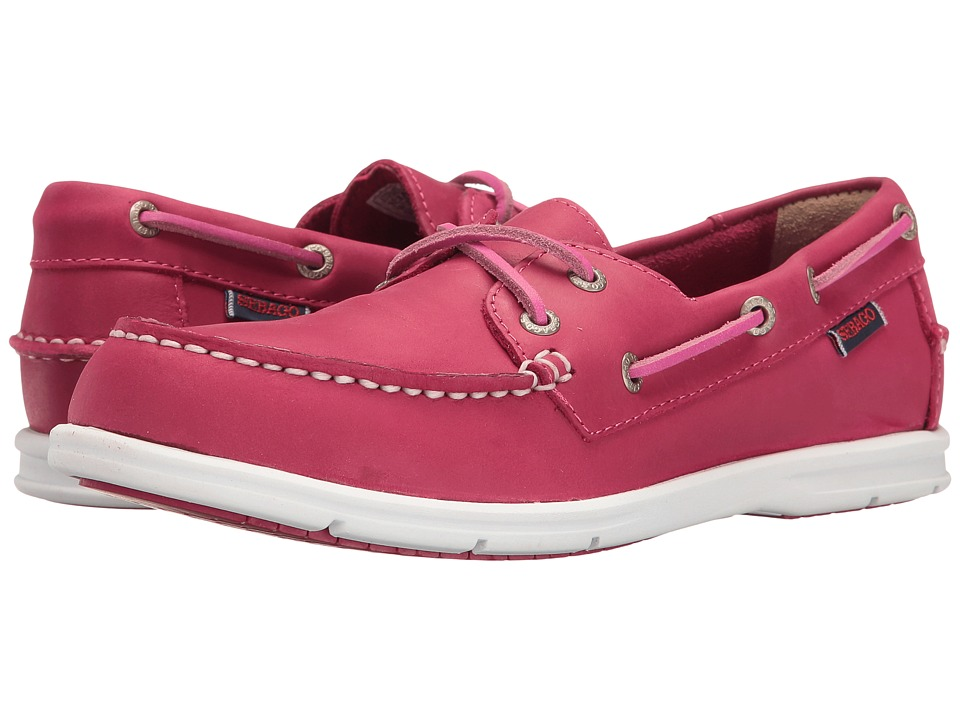 Sebago - Liteside Two Eye (Dark Pink Leather) Women's Shoes