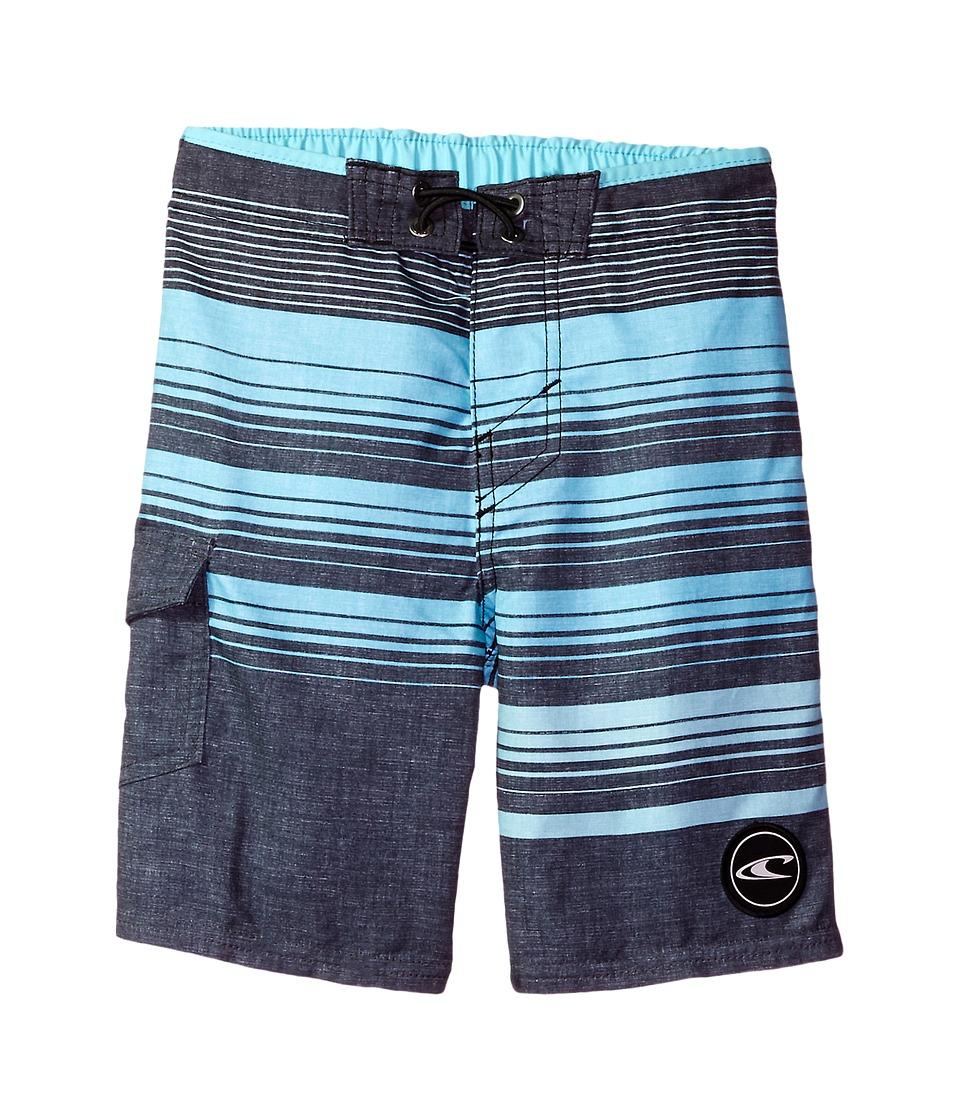 O'Neill Kids - Lennox Boardshorts (Big Kids) (Asphalt) Boy's Swimwear
