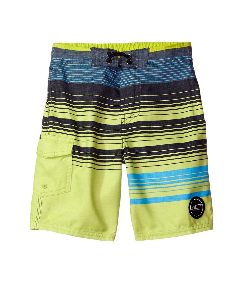 O'Neill Kids - Lennox Boardshorts (Big Kids) (Lime) Boy's Swimwear