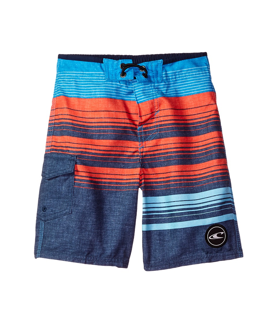 O'Neill Kids - Lennox Boardshorts (Big Kids) (Navy) Boy's Swimwear