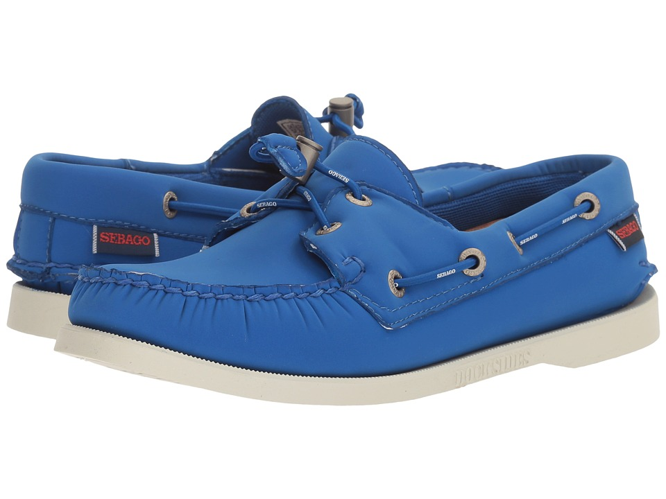 Sebago - Dockside Ariaprene (Blue Ariaprene) Women's Slip on Shoes