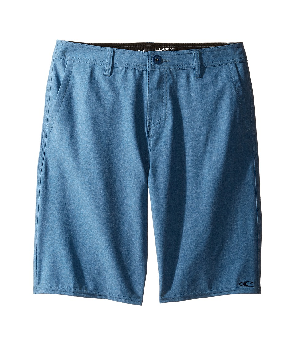 O'Neill Kids - Loaded Heather Hybrid Shorts (Big Kids) (Blue Heather) Boy's Shorts