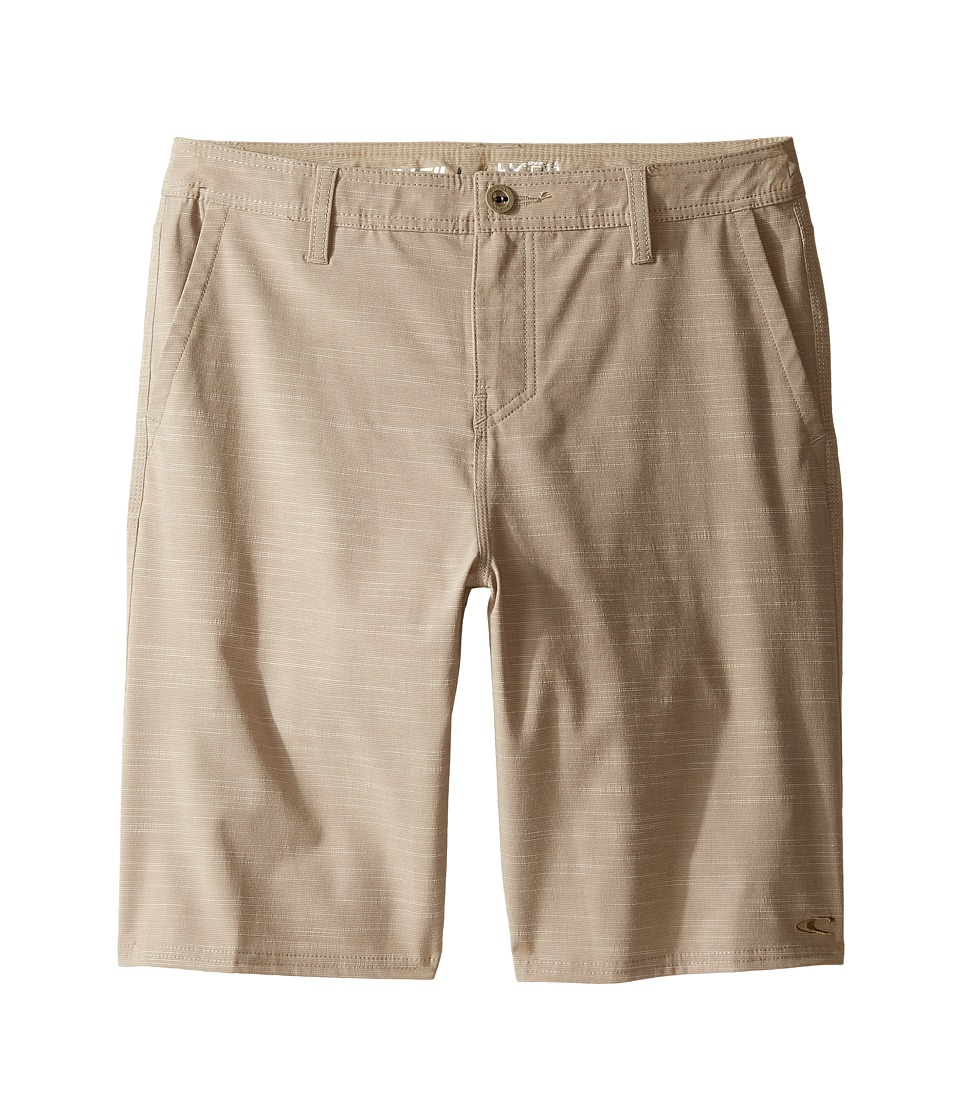 O'Neill Kids - Locked Slub Hybrid Shorts (Big Kids) (Khaki) Boy's Shorts