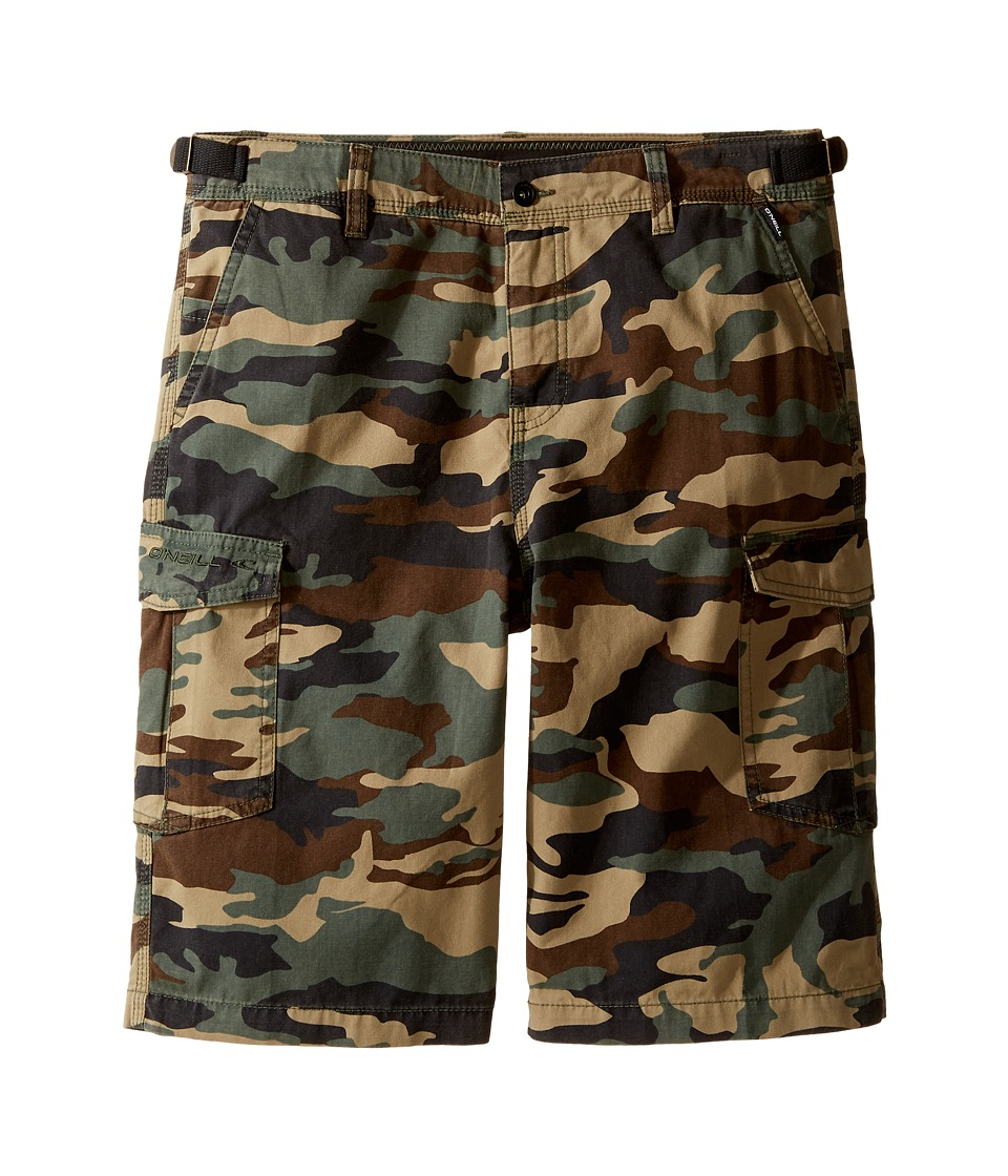 O'Neill Kids - El Toro Cargo Shorts (Big Kids) (Camo) Boy's Shorts