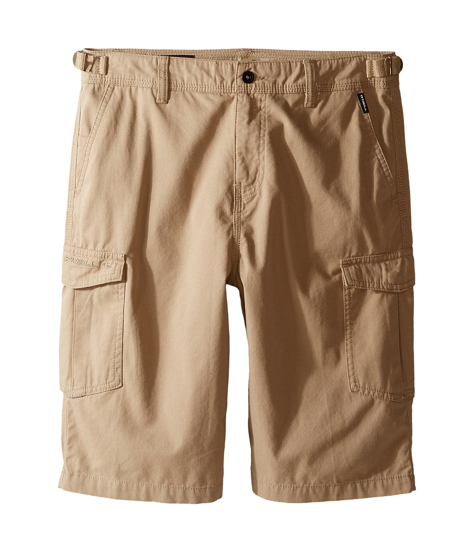 O'Neill Kids - El Toro Cargo Shorts (Big Kids) (Khaki) Boy's Shorts