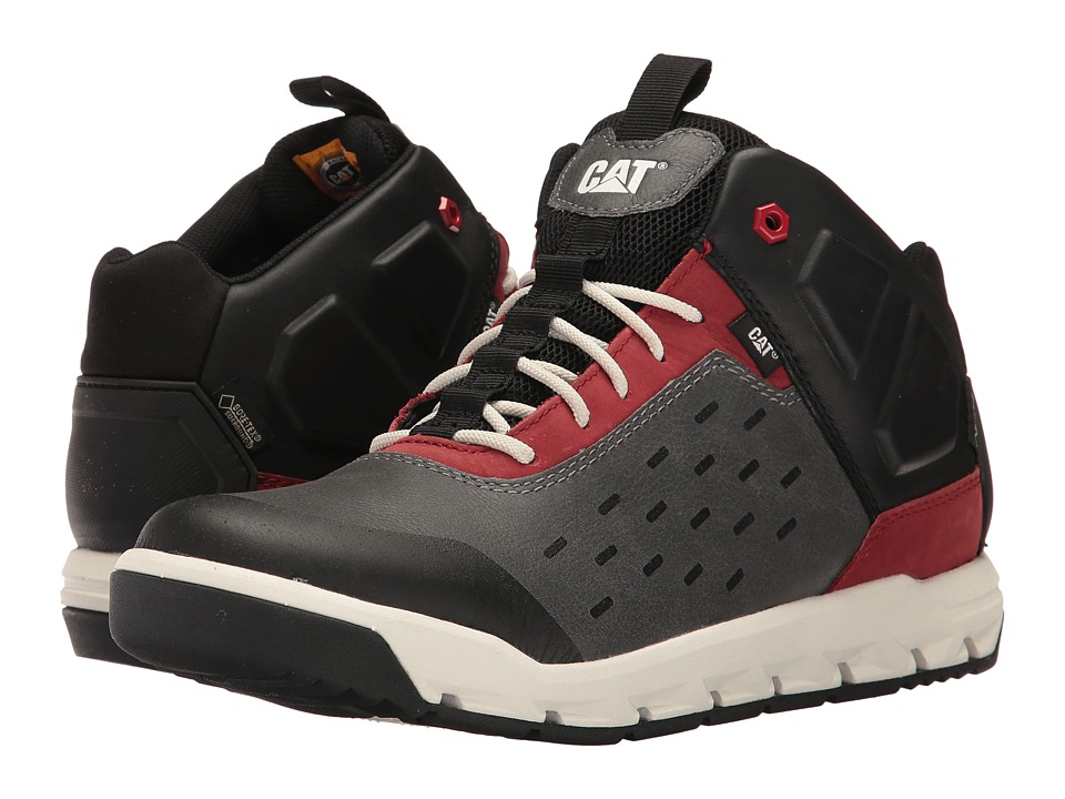 Caterpillar - Parched Gore-Tex (Earl Grey/Brick) Men's Lace up casual Shoes