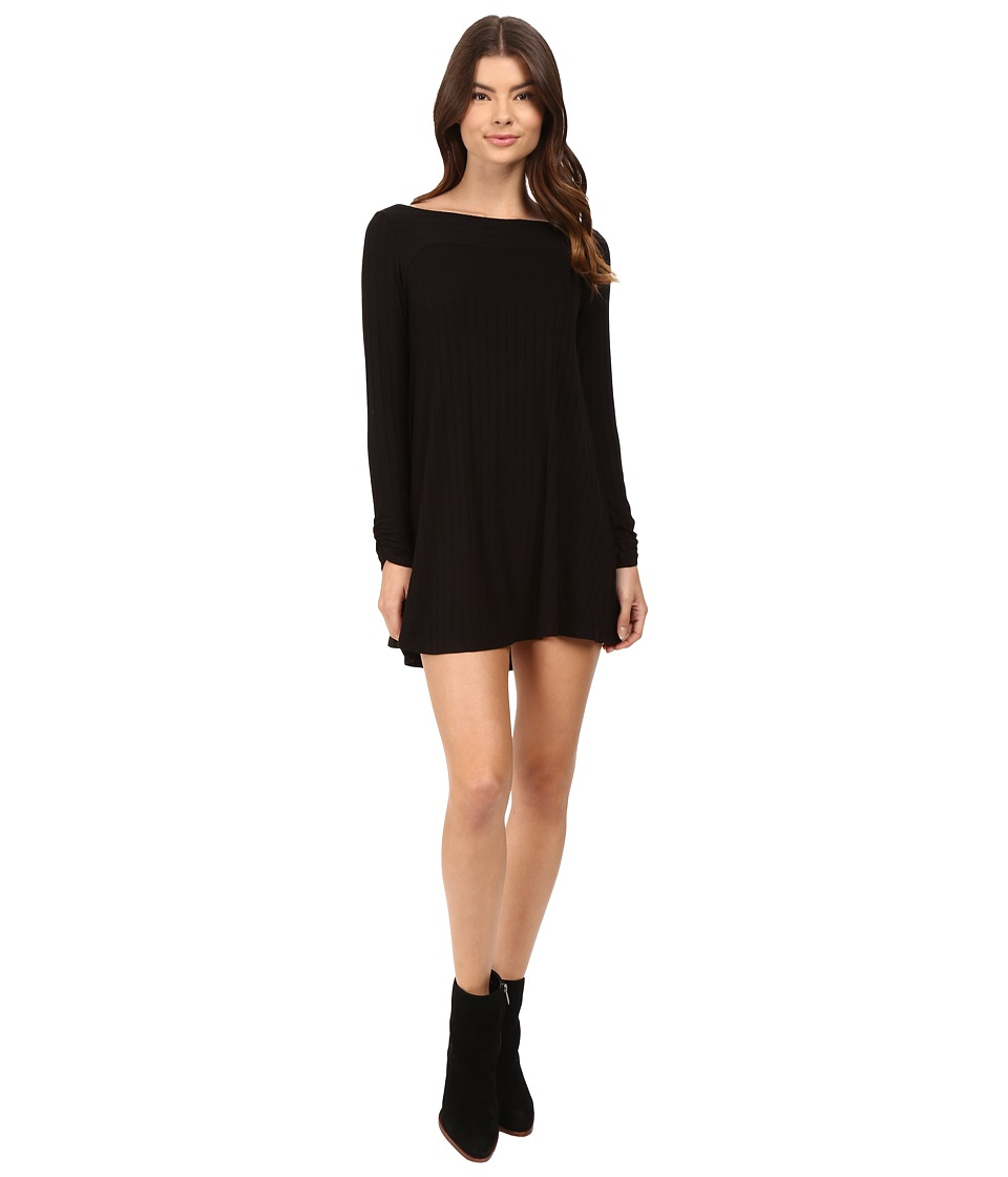 Lucy Love - Chill Dress (Black) Women's Dress