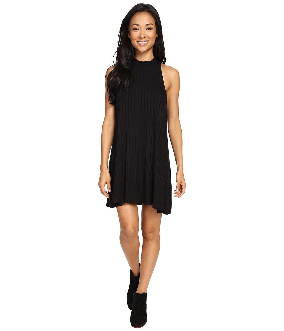 Lucy Love - Zaria Swing Dress (Black 2) Women's Dress