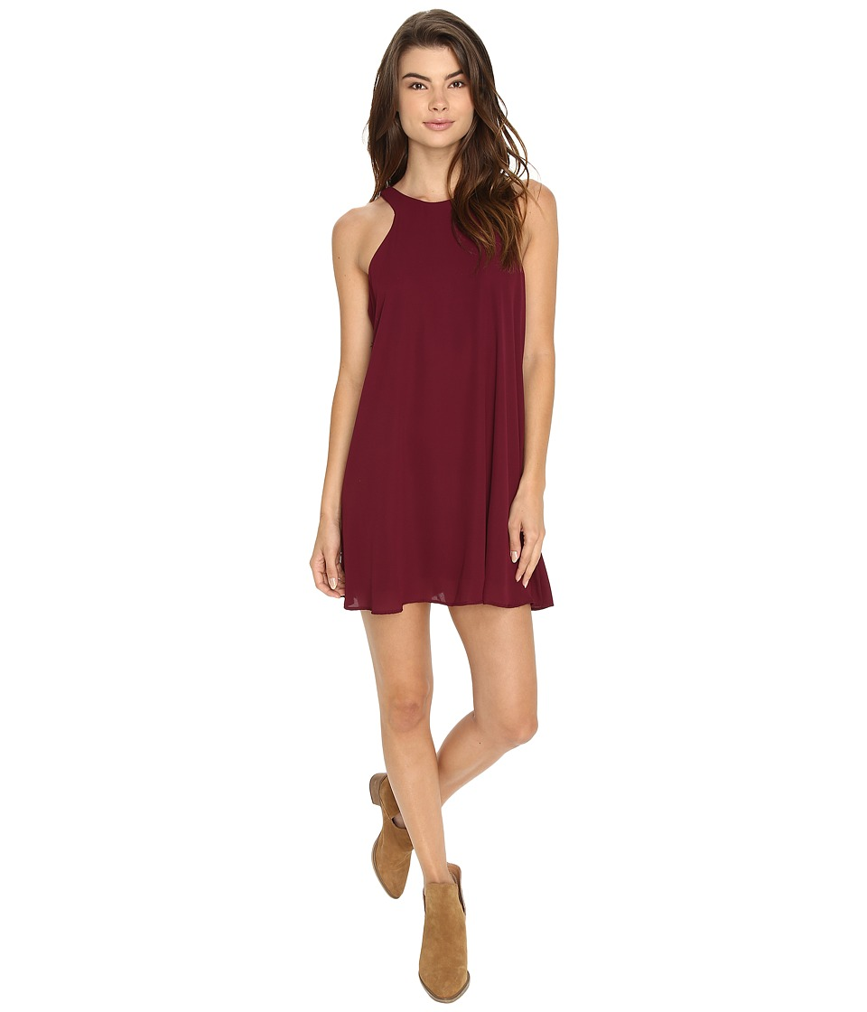 Lucy Love - Charlie Dress (Merlot) Women's Dress