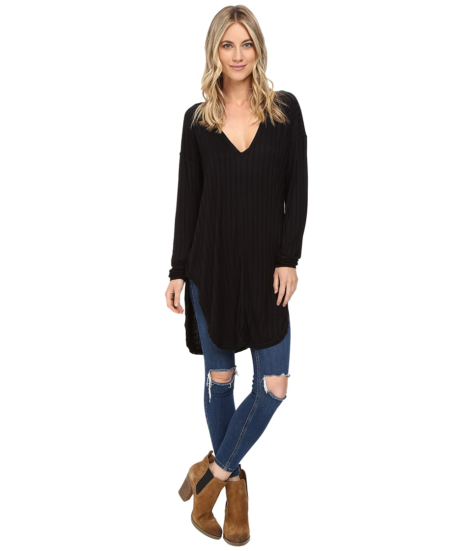 Lucy Love - Grand Canyon Tunic (Black) Women's Clothing