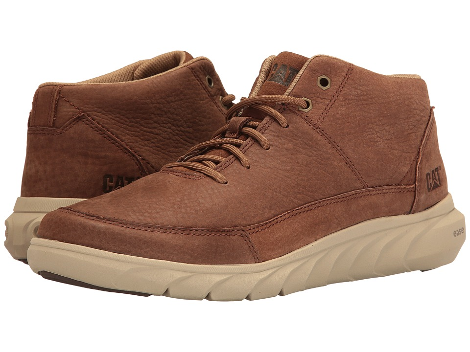 Caterpillar Kvell (Brown) Men's Lace up casual Shoes