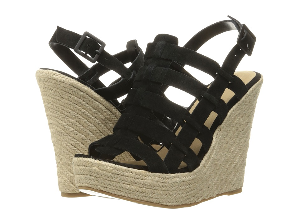 Chinese Laundry - Dance Party (Black) Women's Wedge Shoes