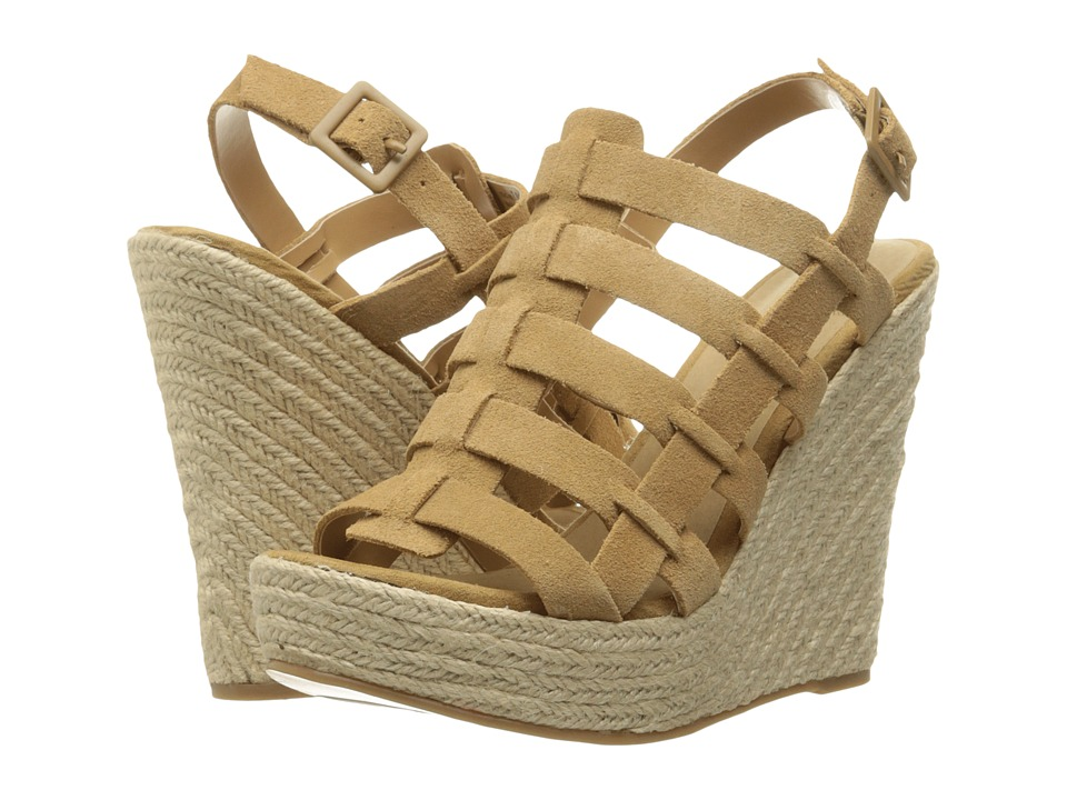 Chinese Laundry - Dance Party (Camel) Women's Wedge Shoes