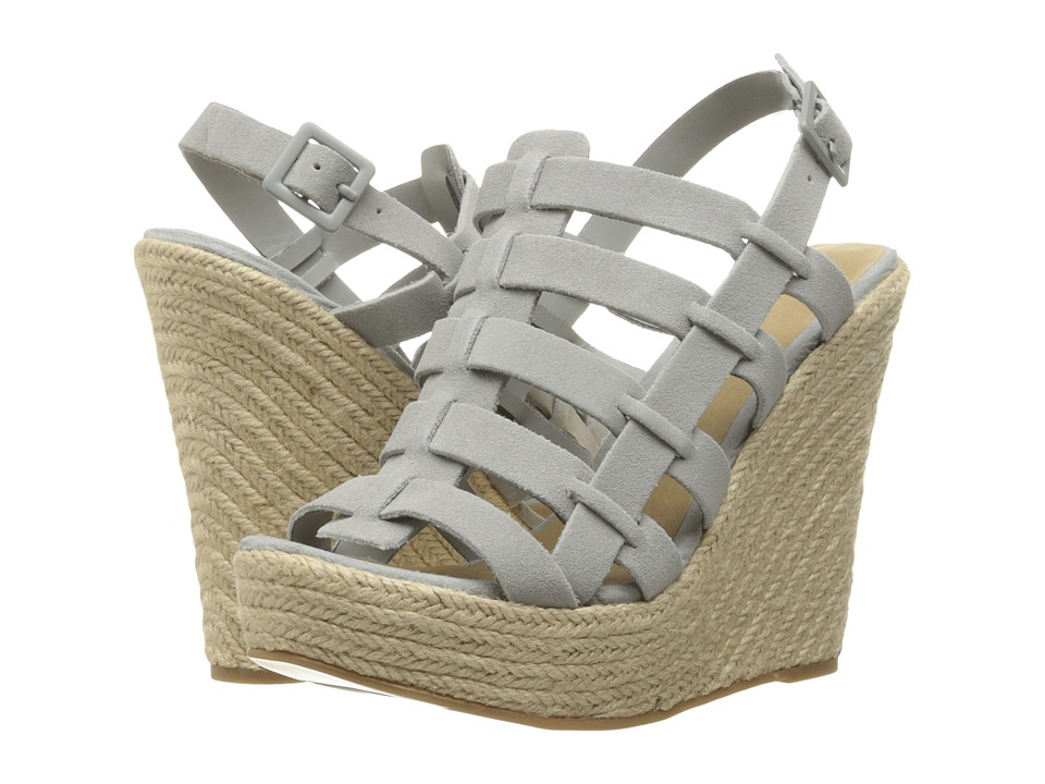 Chinese Laundry - Dance Party (Grey/Blue) Women's Wedge Shoes