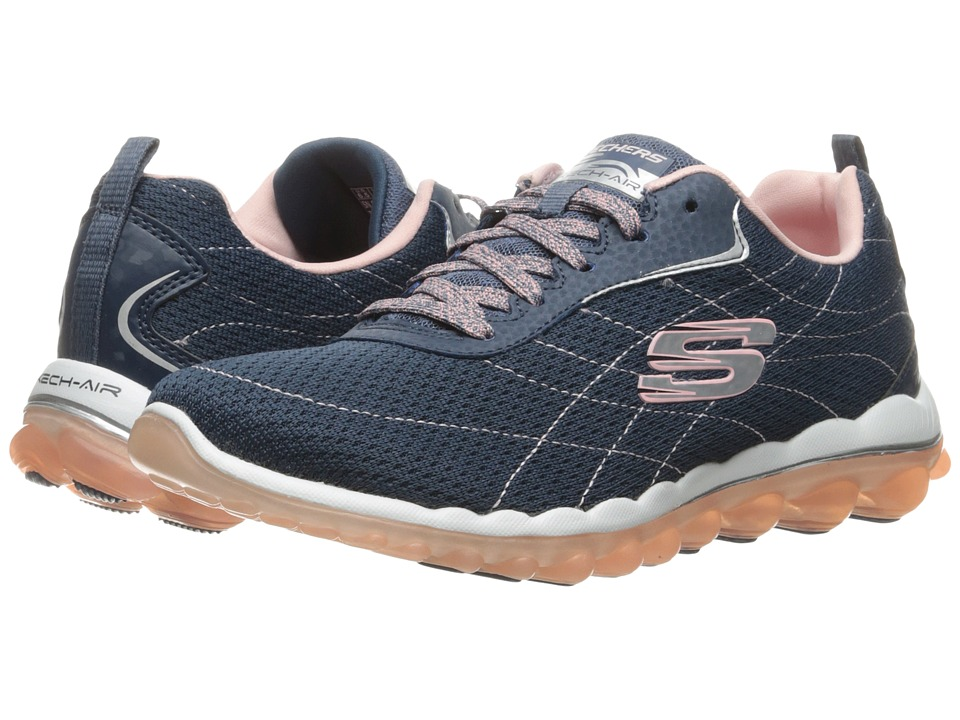 SKECHERS - Skech-Air 2.0 Modern Edge (Navy Pink) Women's Shoes
