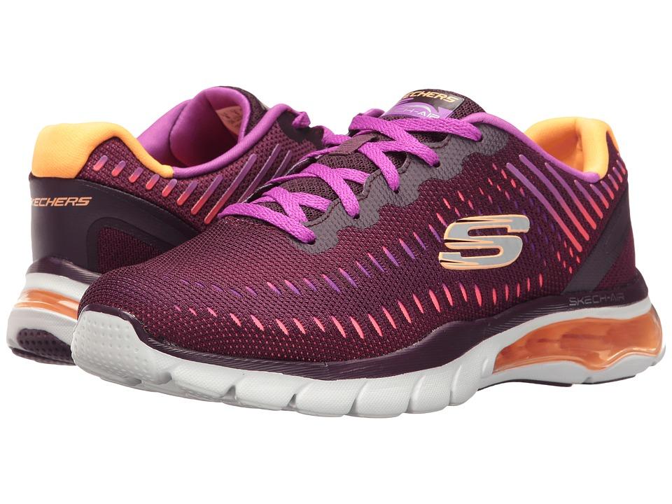 SKECHERS - Skech-Air Cloud (Plum) Women's Shoes