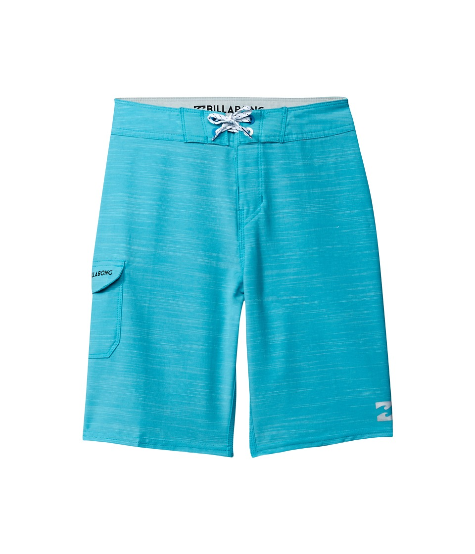 Billabong Kids All Day Boardshorts (Big Kids) (Aqua) Boy