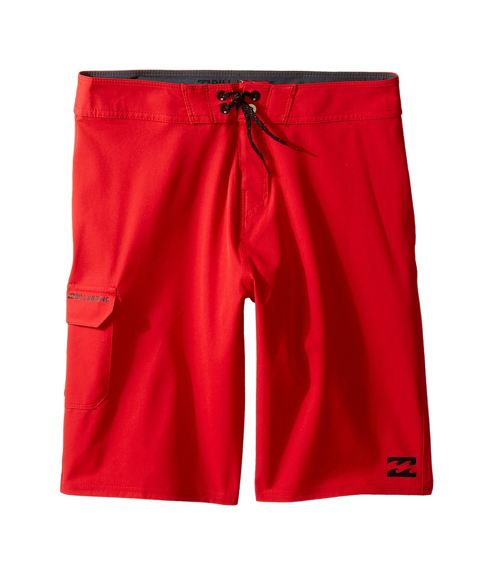 Billabong Kids - All Day Boardshorts (Big Kids) (Red) Boy's Swimwear