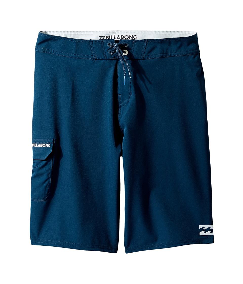 Billabong Kids - All Day Boardshorts (Big Kids) (Navy 1) Boy's Swimwear