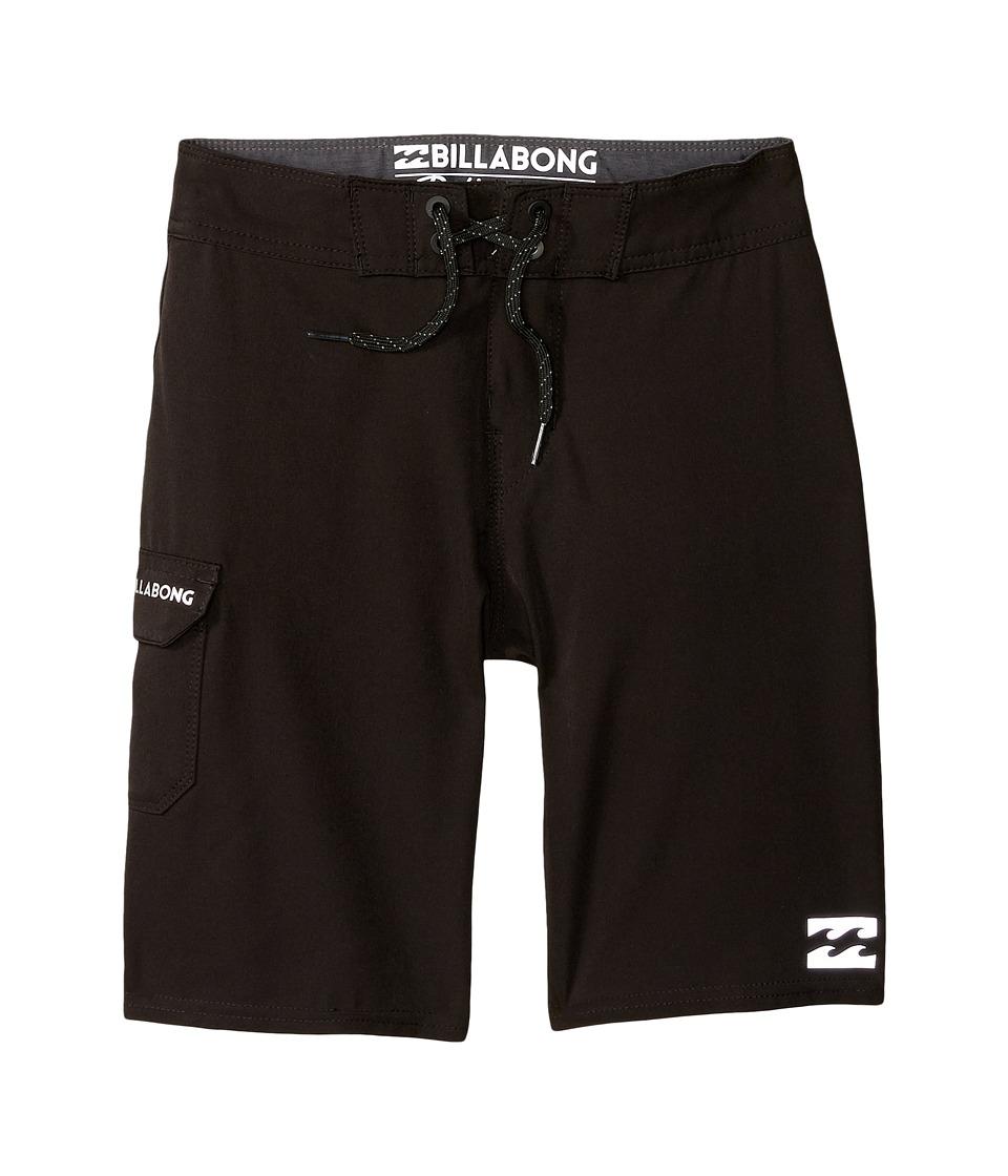 Billabong Kids All Day Boardshorts (Big Kids) (Black 1) Boy
