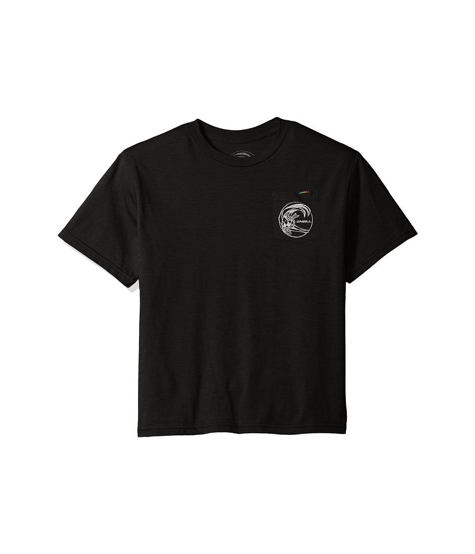 O'Neill Kids - Slabs Tee (Big Kids) (Black) Boy's T Shirt