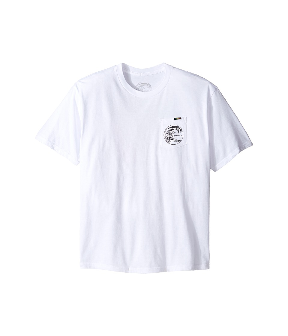 O'Neill Kids - Slabs Tee (Big Kids) (White) Boy's T Shirt
