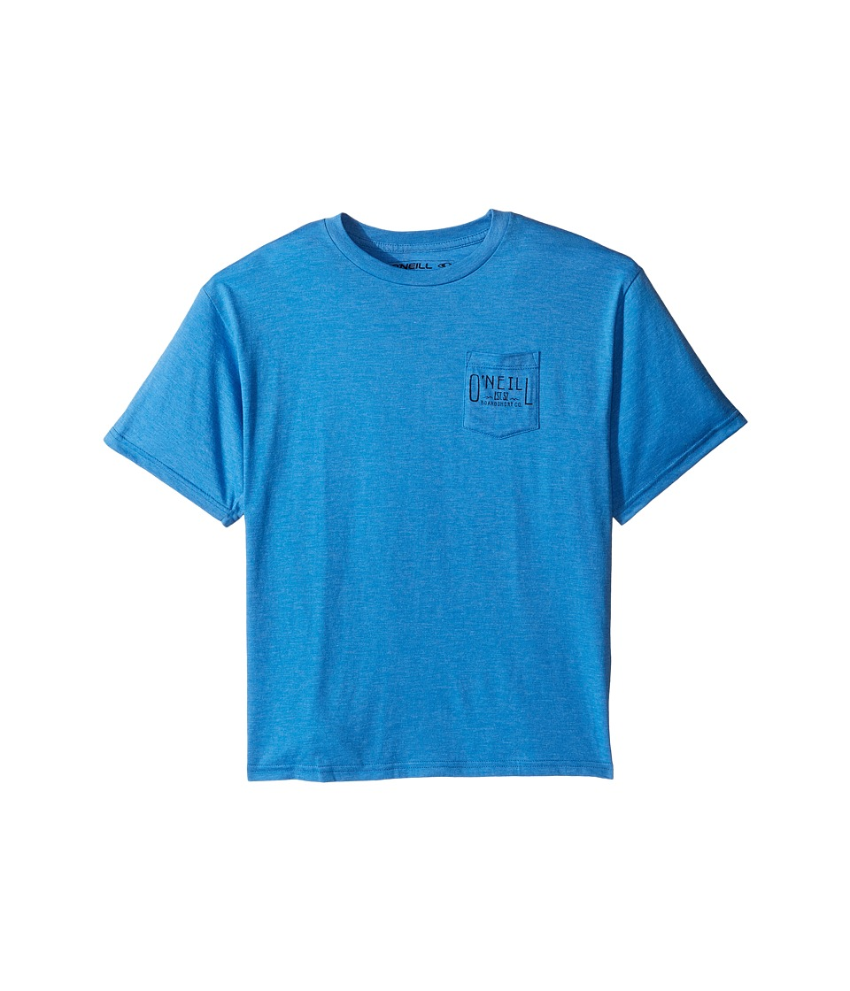 O'Neill Kids - Worker Tee (Big Kids) (Heather Royal Blue) Boy's T Shirt
