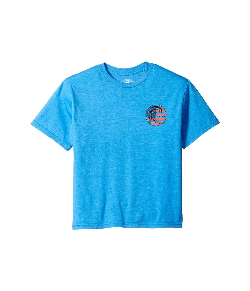 O'Neill Kids - Old Glory Original Tee (Big Kids) (Heather Royal Blue) Boy's T Shirt