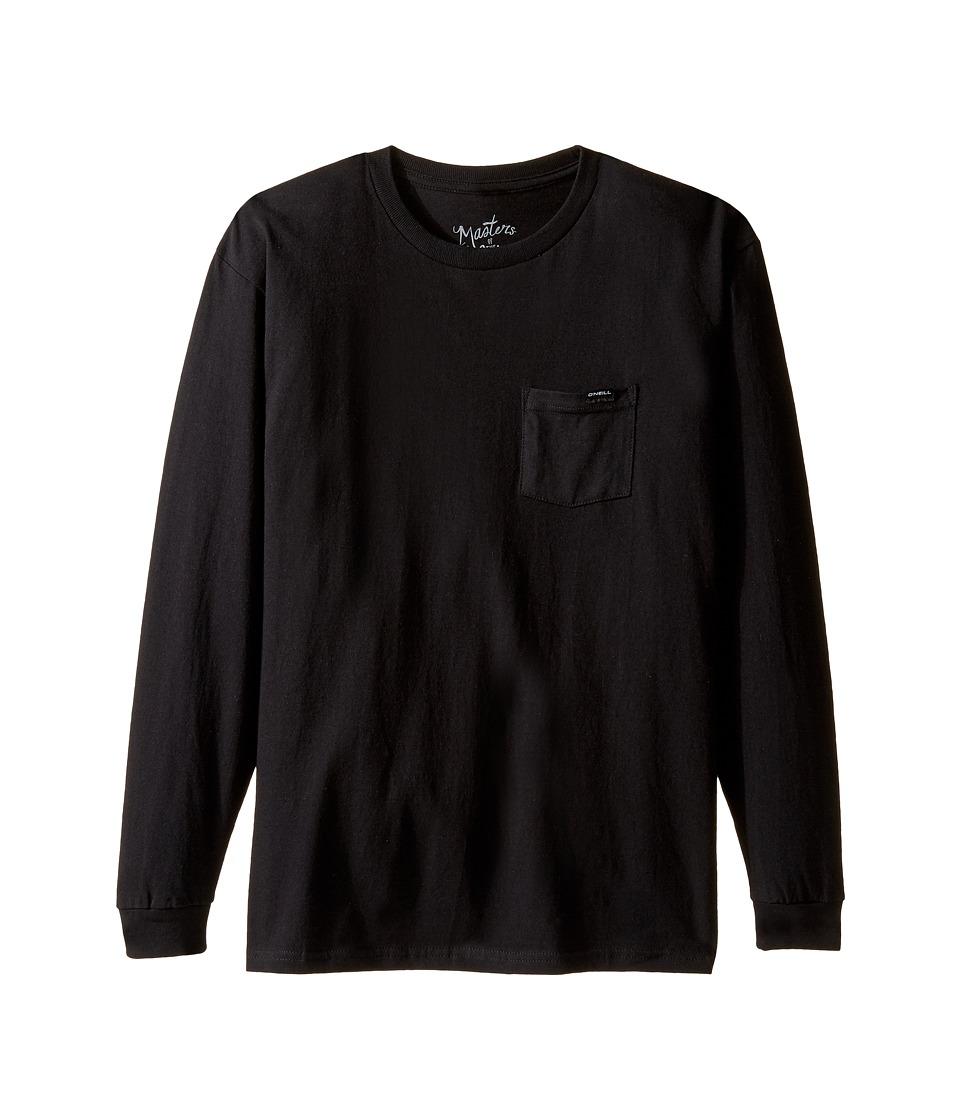O'Neill Kids - Kidman Long Sleeve Tee (Big Kids) (Black) Boy's Long Sleeve Pullover