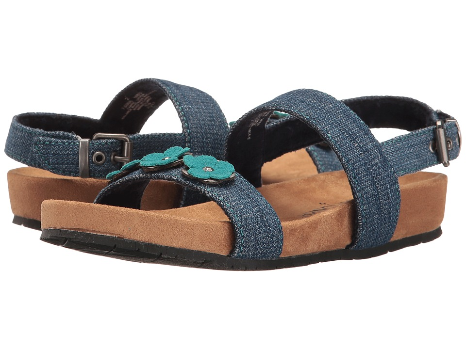 Minnetonka Kids - Harmony Sandal (Toddler/Little Kid/Big Kid) (Blue) Girls Shoes