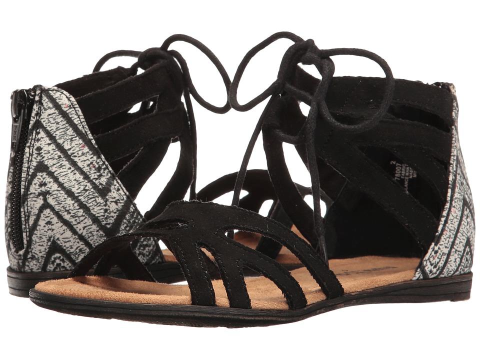 Minnetonka Kids - Meri Sandal (Toddler/Little Kid/Big Kid) (Black) Girls Shoes