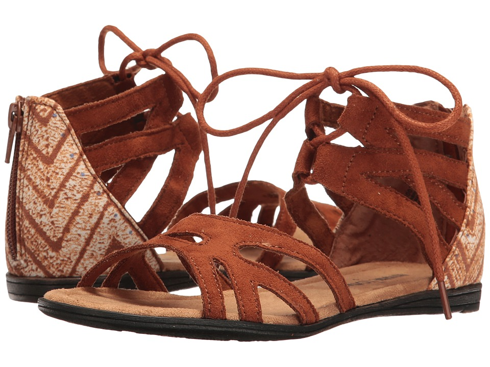 Minnetonka Kids - Meri Sandal (Toddler/Little Kid/Big Kid) (Brown) Girls Shoes