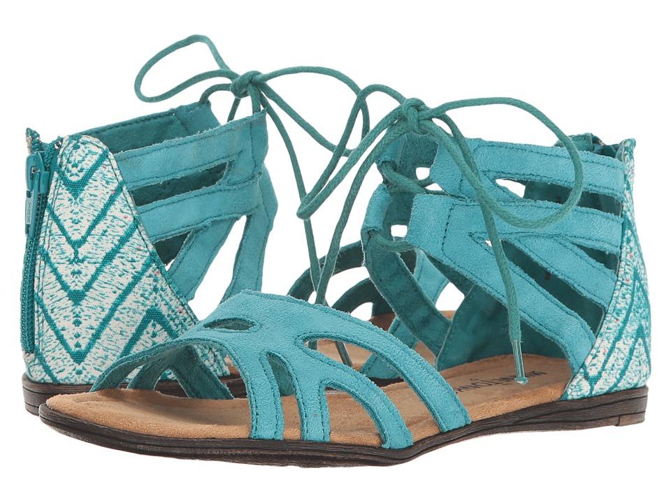 Minnetonka Kids - Meri Sandal (Toddler/Little Kid/Big Kid) (Turquoise) Girls Shoes