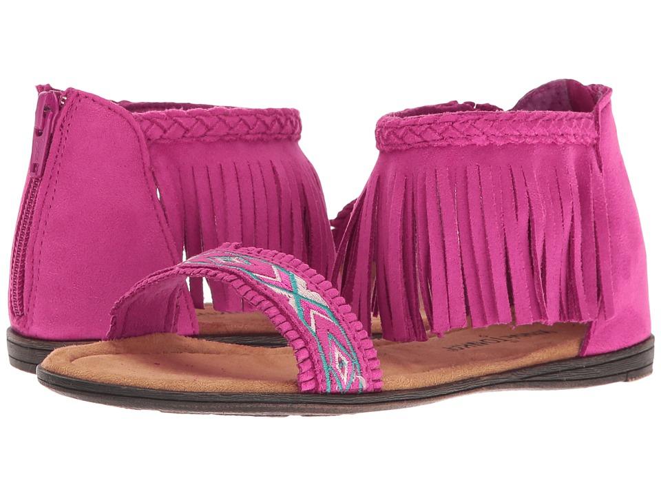 Minnetonka Kids Coco Sandal (Toddler/Little Kid/Big Kid) (Hot Pink) Girls Shoes