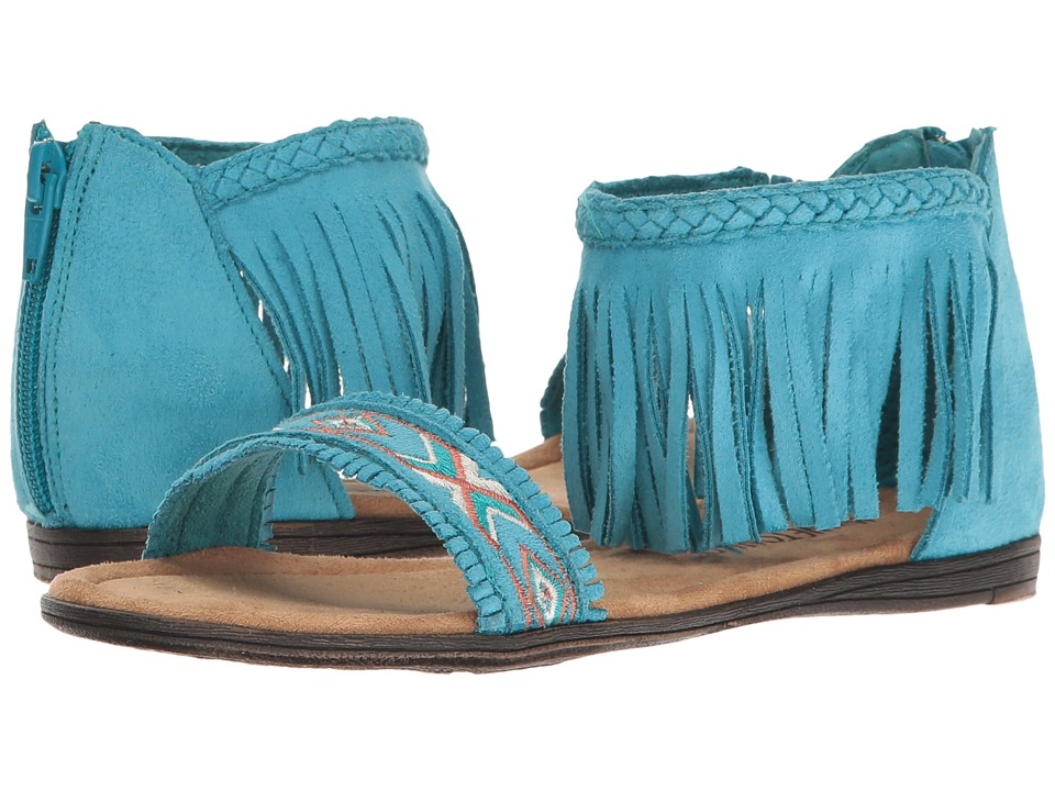 Minnetonka Kids Coco Sandal (Toddler/Little Kid/Big Kid) (Turquoise) Girls Shoes