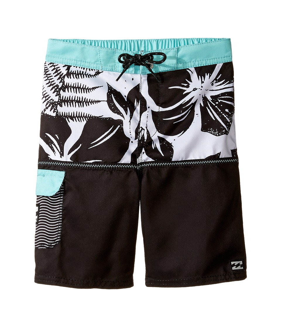 Billabong Kids - Fifty50 LT (Toddler/Little Kids) (Black) Boy's Swimwear